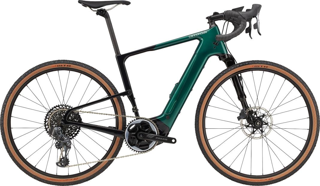 Gravel bike Topstone Neo Carbon Lefty